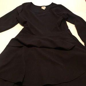 2xl solid black Georgia dress from lularoe